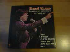 HERVE VILLARD INTEGRAL OLYMPIA 80   ALBUM 33T DISQUE VINYL