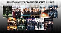 MURDOCH MYSTERIES COMPLETE SERIES 1-11 DVD Season 1 2 3 4 5 6 7 8 9 10 11 NEW UK