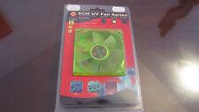 Ventilador Cooler UV Verde Green Color 8 cms 80 mm Thermaltake - Modding