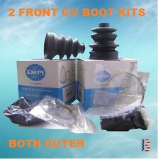 2 FRONT OUTER ATV CV Joint Boot Kit FIT ARCTIC CAT 250 300 375 400 454 500 650