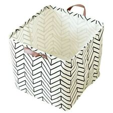Home Folding Cotton Linen Storage Laudry Clothes Storage Box Cabinet Basket Tool