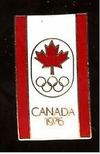 1976 OLYMPICS poster art CLOISONNE pin CANADA