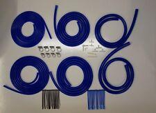 Boostjunkies MEGA Vacuum Hose Engine Dress Up Kit in Blue