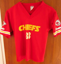 KANSAS CITY CHIEFS football jersey Tony Gonzalez youth med Franklin polyester