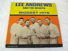 Lee Andrews and The Hearts BIGGEST HITS Lost Nite Records 60's LP LP-101 Doo Wop