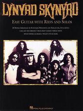 Lynyrd Skynyrd Easy Guitar With Riffs & Solos Free Bird TAB Music Book