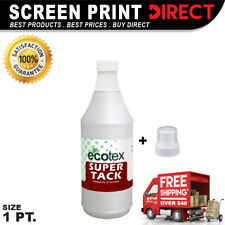Ecotex SUPER TACK - Premium Pallet Adhesive For Screen Printing - 1 Pint