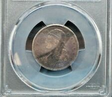 1835 25c Capped Bust Silver Quarter Coin PCGS GENUINE VF DETAIL M3106