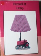 "International Harvester McCormick Farmall M Tractor 14"" Table Lamp w/ Shade"