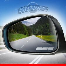 ADESIVI x specchietti moto 696 DUCATI MONSTER - PVC effetto vetro smerigliato