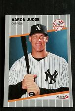 Aaron Judge 1989  Style Ripken F*ck Face Parody ACEO Art Rookie Baseball Card