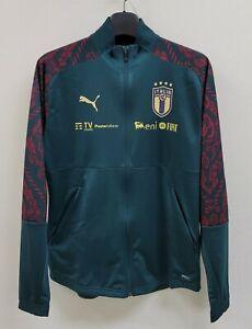 2020-21 Italy Stadium Third Jacket 20-21 Sponsor Green