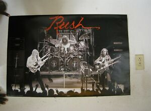 Rush Poster Early Concert Shot
