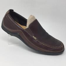 Cole Haan Tucker Venetian Slip On Loafer Shoes 11.5 Brown Leather C04059