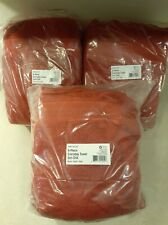 StyleWell Towel Set 30 in. W x 54 in. L Hygrocotton Solid Chili Red (18-Piece)