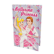 BALLERINA PRINCESS Personalised Childrens Book Story Gift - HARD BACK