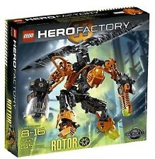 Lego Bionicle HERO Factory ROTOR 7162 New Factory Sealed 145 Pieces