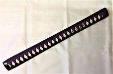 New Purple Nodachi tsuka iaido Iaito katana Shinken Japanese sword cotton ito