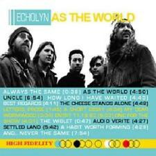 ECHOLYN - AS THE WORLD SEALED DIGIPAK CD + DVD 2005 VINTAGE USA PROGRESSIVE