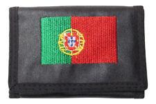 Portefeuille, porte-monnaie imprimé drapeau portugais, Portugal + chaine.