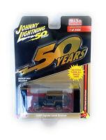 Johnny Lightning 1/64 1980 Black & Gold Toyota Land Cruiser SUV Model CP7197-1