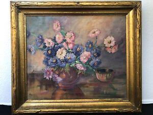 🔥 RARE Antique California Plein Air Impressionist Oil Painting - Dell Meadows