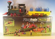 Faller Playtrain 3613 Locomotive a Vapeur PT 77 avec personenaussichts-Voiture Dans Box #7659