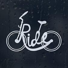 Paseo En Bicicleta Coche Decal Vinilo Adhesivo Para Ventana De Parachoques Panel