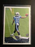 2013 Topps #248 JUSTIN HUNTER ROOKIE RC Titans Lot w Variation SSP Very Rare !