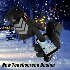 Rechargeable Battery Powered Heated Gloves Winter Warm Sports Mittens US BU