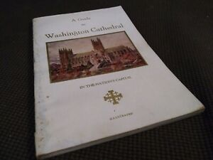 Guide to Washington Cathedral National Cathedral Episcopal Church 1947