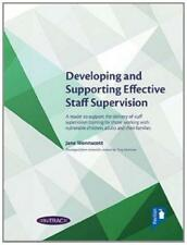 Developing and Supporting Effective Staff Supervision handbook by Wonnacott, Jan