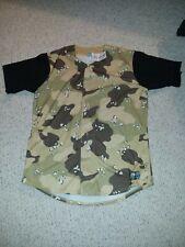 Camouflage Baseball Jersey Size 48 NWT
