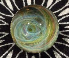 26 MM Cosmic Chaos Vortex Hand Made Contemporary Borosilicate Art Glass Marble
