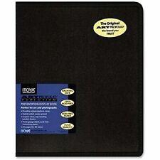 Photo Album Display Book Art 48 Photos Black Durable Picture Storage 8x10 New