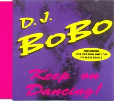 DJ BOBO - Keep on dancing 4TR CDM 1993 EURODANCE