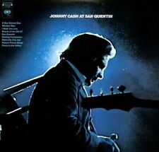 JOHNNY CASH At San Quentin VINYL LP BRAND NEW With Download