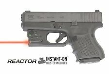 Viridian R5-R-G26/27 Glock Pistols Reactor 5 Red Laser Sight w/ ECR & Holster