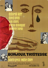 Bonjour Tristesse ORIGINAL A1 Kinoplakat Deborah Kerr ; David Niven ;Jean Seberg
