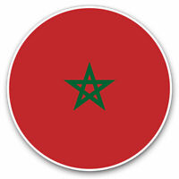 2 x Vinyl Stickers 7.5cm - Morocco North Africa Rabat Cool Gift #9153