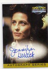 A12 Auto Jennifer Hetrick Deep Space Nine DS9 Memories From The Future Autograph