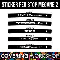 Sticker feu stop Renault Megane 2 RS Renault sport / GT / GT line