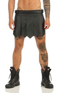 XS Gladiator Skirt Kilt Real Leather 1 Belt Buckles A Legionnaire Medieval