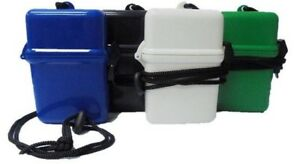 Eclipse Crushproof Waterproof Hard Plastic Cigarette Case, Asstd Colors, 100's