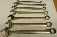 SNAP-ON 7PC SAE FLANK DRIVE 12PT COMBINATION WRENCH SET
