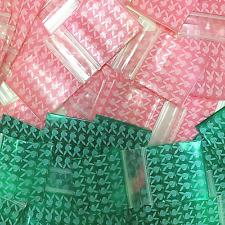 3 Mil 175175 Mini Zip Lock Design Bags 175 X 175 Bunnies 2 C Mixed 100 Pcs