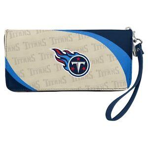 Tennessee Titans NFL Women's Curve Zip Organizer Wallet / Purse