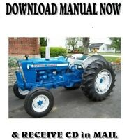 BEST -  Ford 2000 3000 4000 5000 7000 Tractor Service Shop Manual 1965-1975