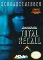 Total Recall - Nitnendo NES Game Authentic