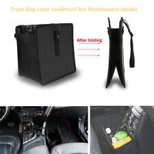 Foldable Car Trash Bag Litter LeakProof Wastebasket Holder Container Storage Box